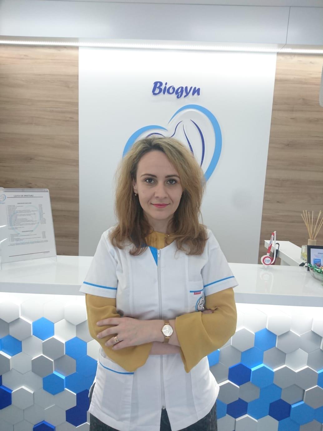 Dr. Bodean Diana : Medic specialist obstetrică-ginecologie